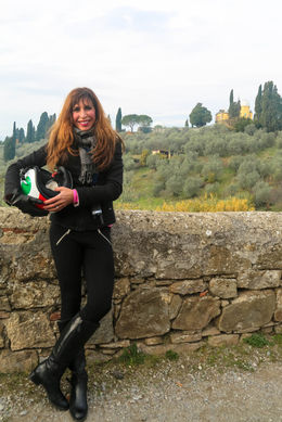 Breathtaking views of the Tuscan countryside , Vera N - December 2015