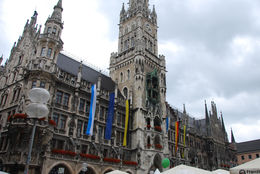 Just a nice side view of the famous glockenspiel during our walk. , Jeff & Kathy - July 2015