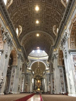 Main aisle of the Basilica , Jeff S - January 2016
