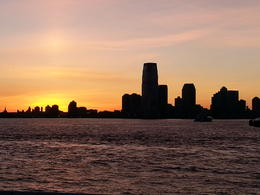 Photo of New York City New York Dinner Cruise Sunset over New Jersey