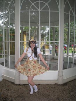 Me infront of the Gazebo for 'Sixteen going on Seventeen' , Erin C - August 2011