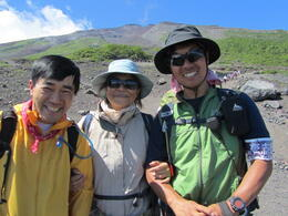 Photo of Tokyo 2-Day Mt Fuji Sunrise Climb from Tokyo The guides and me.