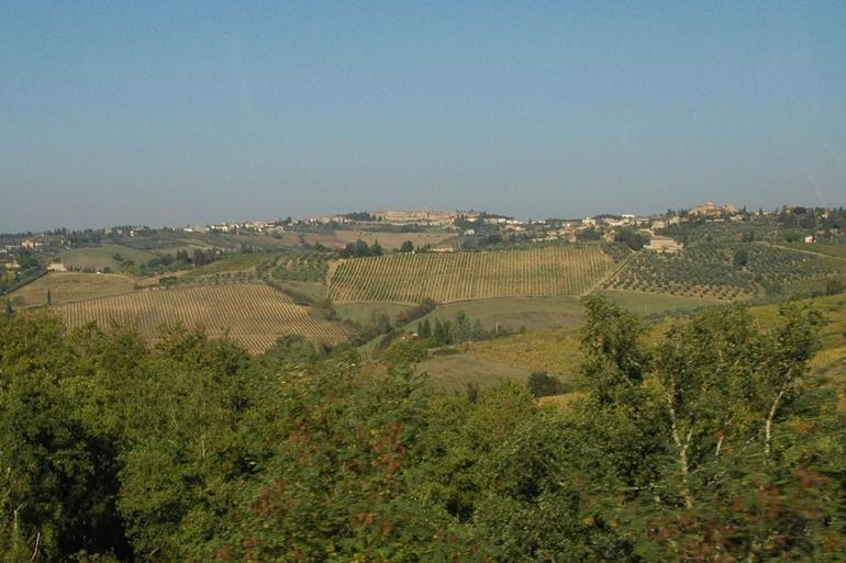 Tuscany from bus - Florence