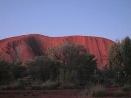 Photo of Ayers Rock Uluru Sunset and Kata Tjuta Tour with Optional Outback Barbecue Dinner Uluru sunset
