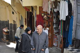 One of the narrow streets in the Kasbah , kands - November 2012