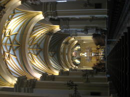 View of the altar of the Cathedral of Lima., Bandit - June 2012