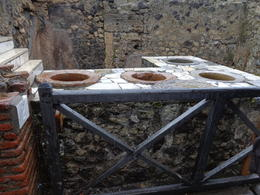 Photo of Naples Mt Vesuvius and Pompeii Day Trip from Naples Ancient fast food