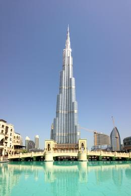 Shot near the Dubai Mall, using panorama setting as couldn't get entire building into camera! , jolon - July 2014