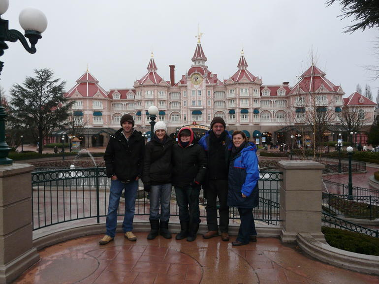 Entrance to Disneyland - Paris