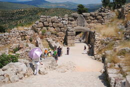 Photo of Athens Mycenae and Epidaurus Day Trip from Athens Entrance to Mycenae