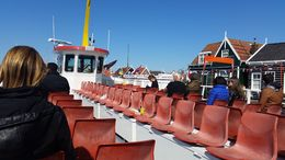 Ferry Ride from Marken to Volendam , Marty L - May 2015