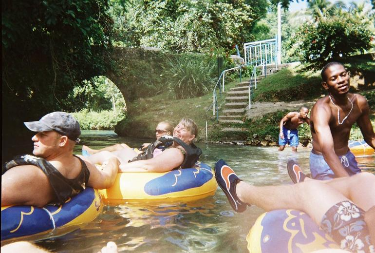 Fun Tubing on the White River - Ocho Rios
