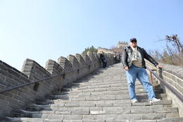 Photo of Beijing Great Wall of China at Badaling and Ming Tombs Day Tour from Beijing Going up