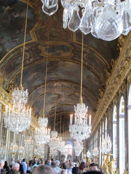 Photo of Paris Versailles Small-Group Tour from Paris with Audio Guide Hall of Mirrors