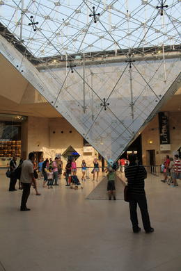 Photo of Paris Skip the Line: Paris Louvre Museum Guided Tour How many pyramids ?