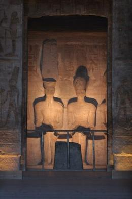 Photo of Aswan Private Tour: Abu Simbel by Minibus from Aswan Inner Sanctum of Abu Simbel