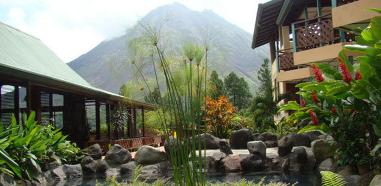 landscape at Arenal Observatory Lodge - Arenal Volcano National Park