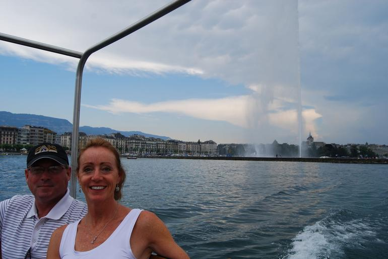 On the Boat on Lake Leman - Geneva