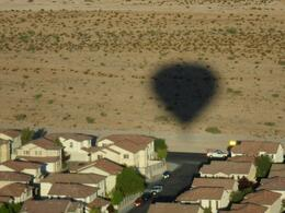 Photo of Las Vegas Las Vegas Sunrise Hot Air Balloon Ride Our Shadow