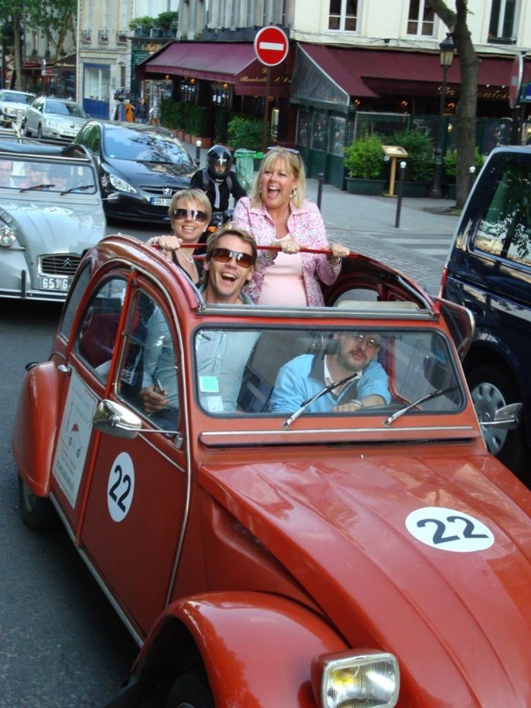 Paris 2CV Tour - Paris