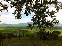 View from Pienza , Chiiz - April 2013