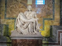 The Pieta in SAt Peter's Basilica!!, Louis C - October 2010