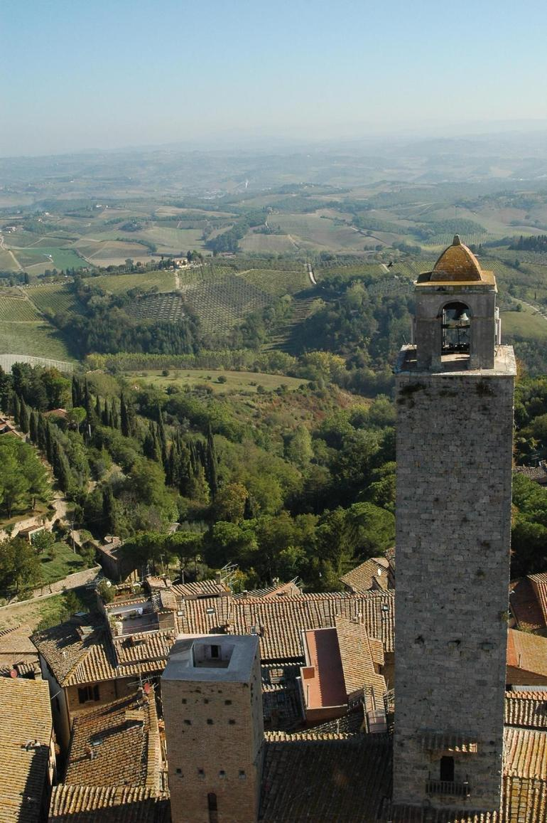San Gimignano - view from the tower - Florence