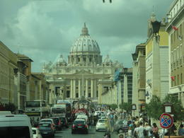 St Peter's (pope had papal audience the day of the tour) , Noemi D - September 2013