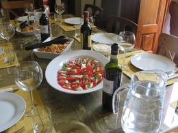 Photo of Florence Small-Group Italian Cooking Class in Florence Table set