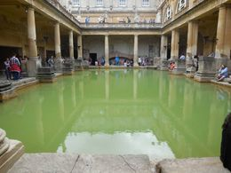 Exploring the Roman Baths , Chris L - August 2015