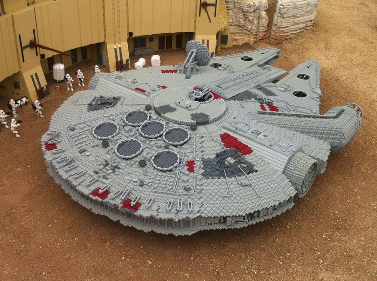 The Millennium Falcon - San Diego