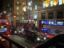 Photo of London London Night Sightseeing Tour View from the top, as we were waiting for others to board.