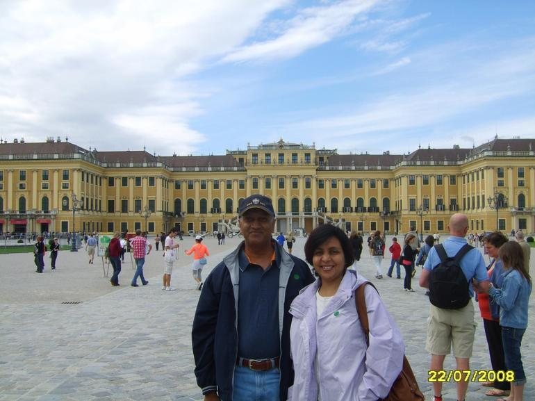 Visitors From India - Vienna