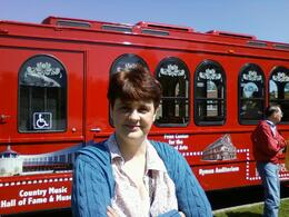My beautiful wife Carolyn enjoying one of the stops on the trolley ride. Great way to celebrate our 30th wedding anniversary. , David L - May 2011