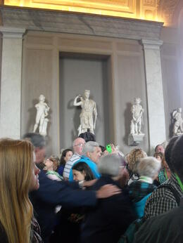 Photo of Rome Skip the Line: Vatican Museums Walking Tour including Sistine Chapel, Raphael's Rooms and St Peter's 0Druk in Vaticaans Museum