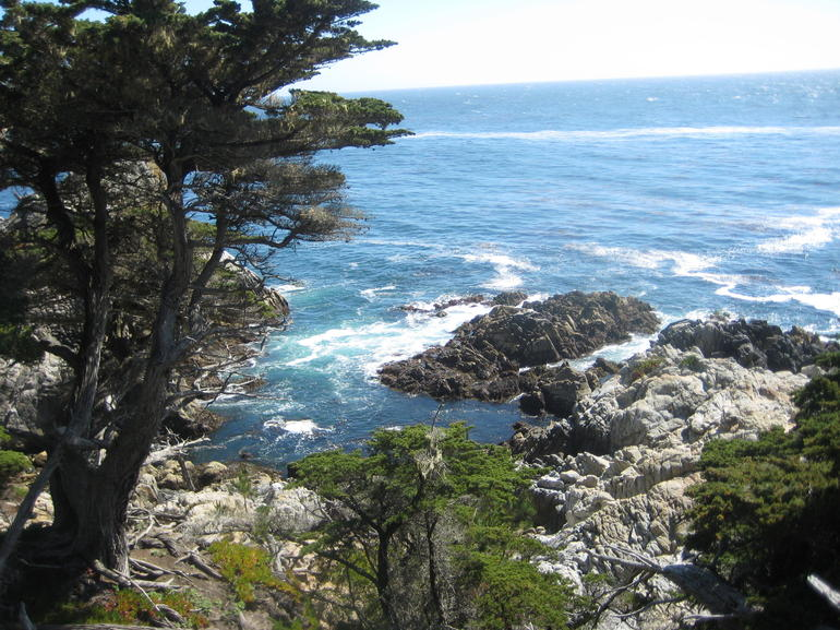 17-mile drive photo stop - San Francisco
