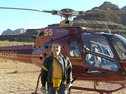 Photo of Las Vegas Grand Canyon All American Helicopter Tour A nurse gets his dream trip!