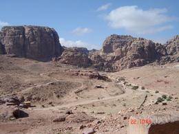 Photo of Amman Private Tour: Petra Day Trip from Amman A view from the top of the Urn Tomb