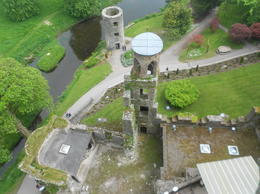 Looking down from the castle , LAFRAGIA M - June 2012