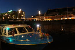 Photo de Amsterdam Croisière aux chandelles sur les canaux d'Amsterdam Boat for Canal Cruise at Holland International