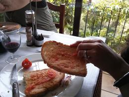 Learning how to make our own tomato bread , venkat K - June 2013
