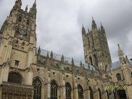 Outside image of the Canterbury Cathedral, Christopher M - July 2009
