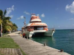 Photo of Cancun Sightseeing, Snorkeling and Dancing Catamaran Cruise from Cancun Dancer