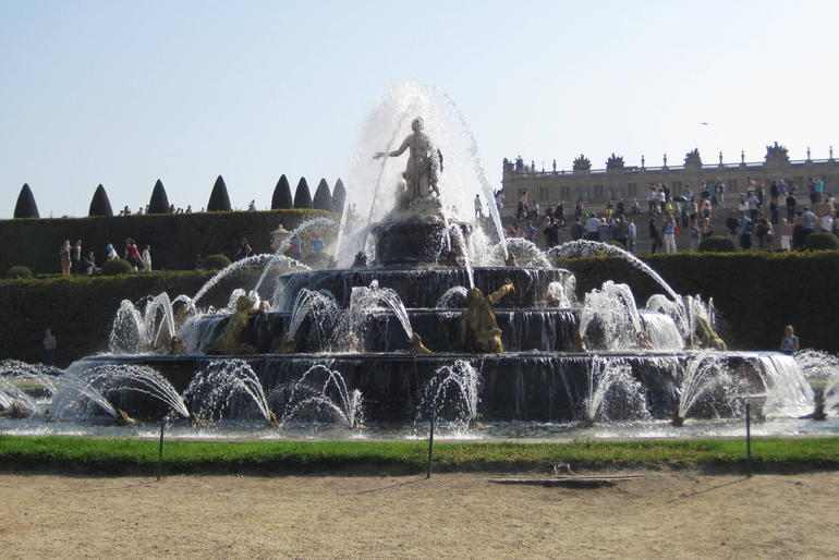 Fountain at Versailles - Paris