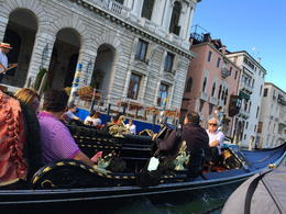 gondola of minimum 5 people; one singer for 4-5 gondolas , Thuy V - July 2014