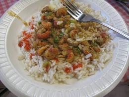 Yummy crawfish etouffee, Dan M - September 2010