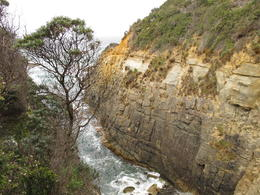 Coastal scenery near Remarkable Cave, Port Arthur, David C - December 2010