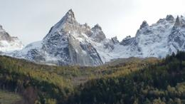 Taken from the City Center in Chamonix, France , Hennessy3864 - October 2014