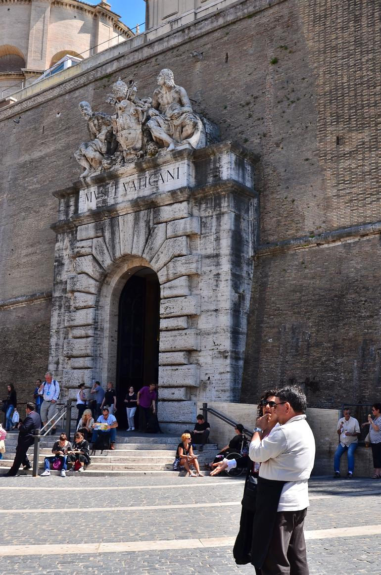 OUTSIDE VATICAN MUSEUMS - Rome