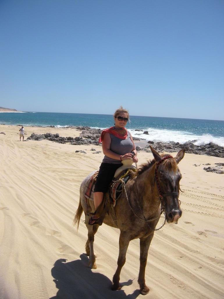 Ready for our ride! - Los Cabos
